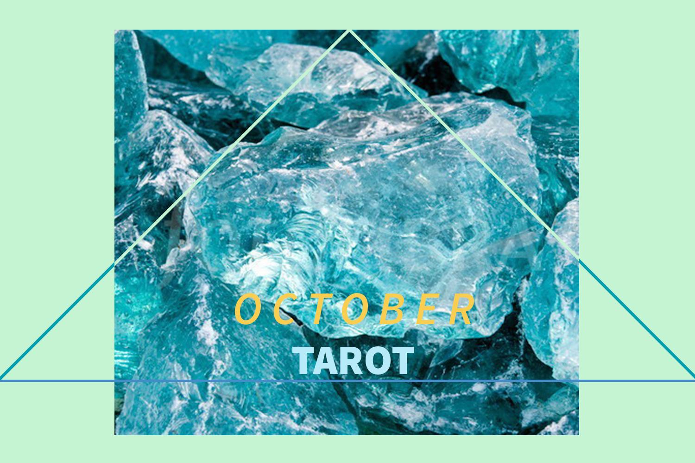 october tarot, susan miller, tarot, astrology, rider waite, the kitten life