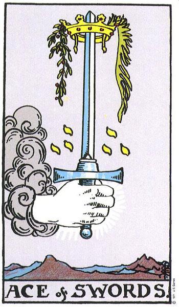 ace of swords, tarot, the universe, susan miller, the kitten life