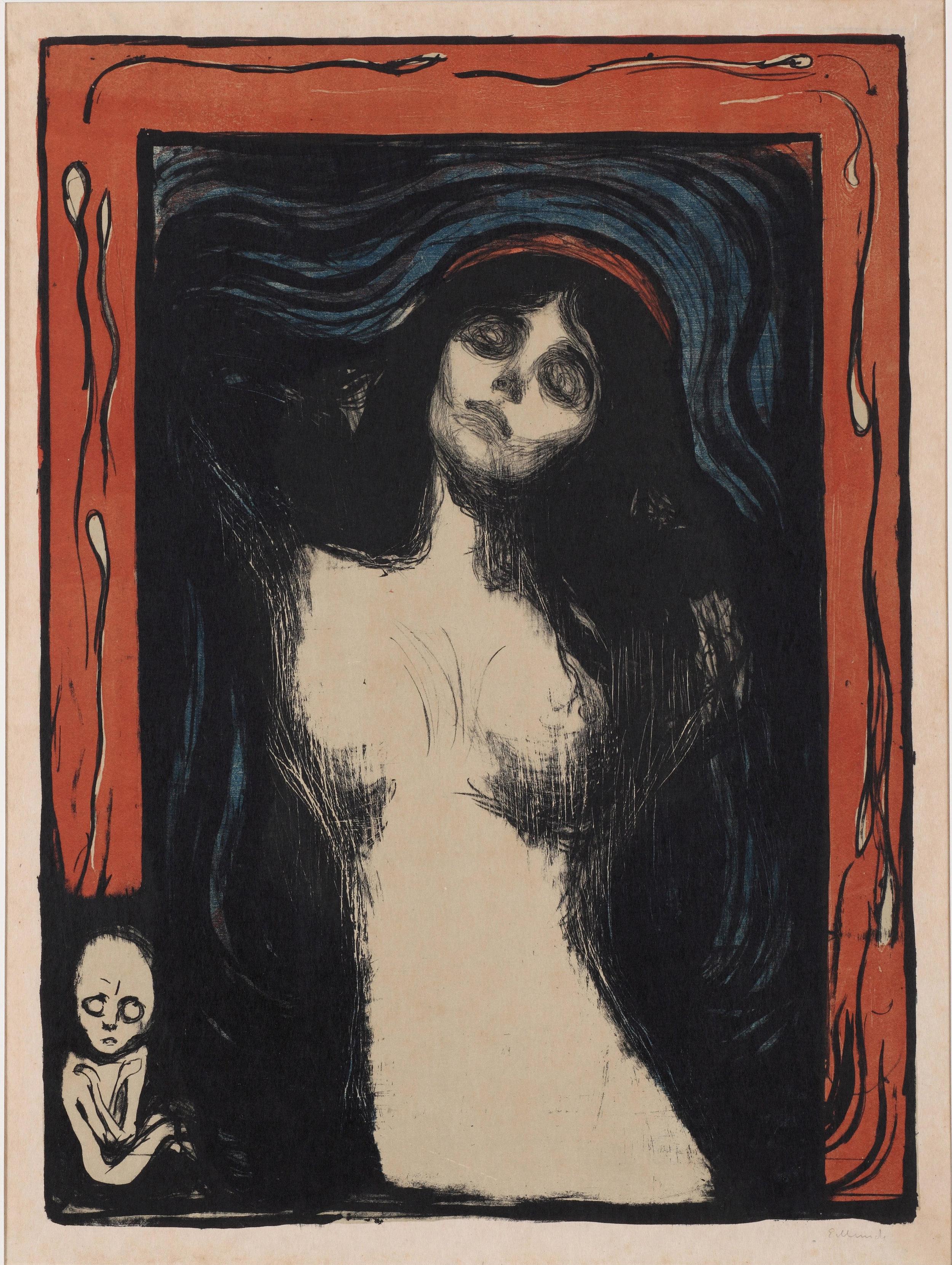 Edvard Munch - Madonna (1895-1902)