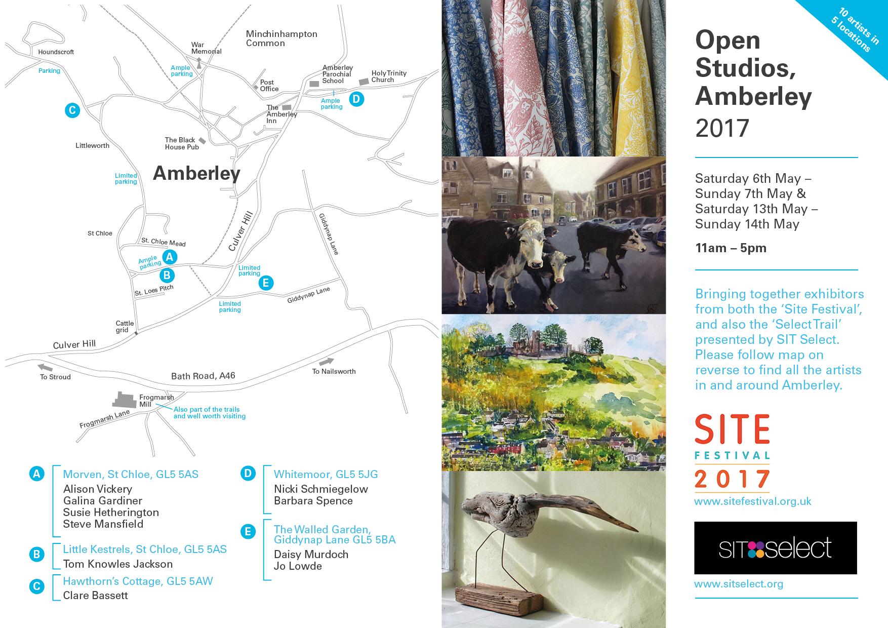 Amberley Open Studios 2017 front