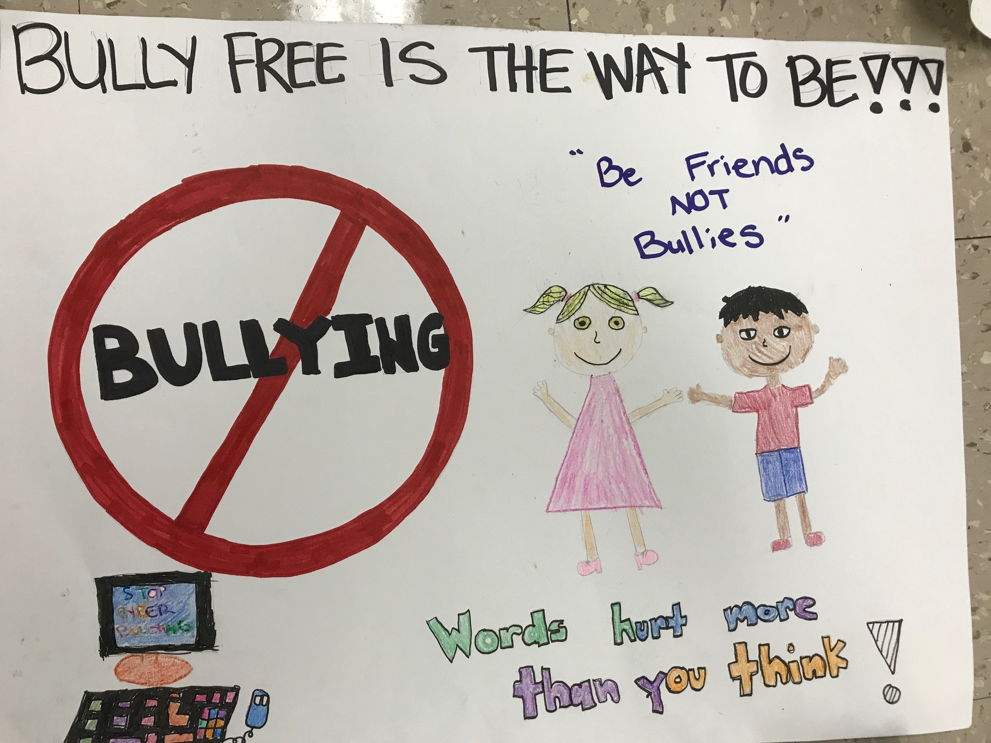 """Peer Mediation """"Stop Bullying Campaign"""