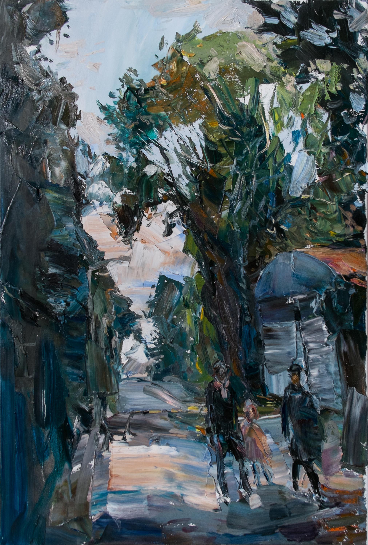 Oil on canvas,  60 x 40 cm