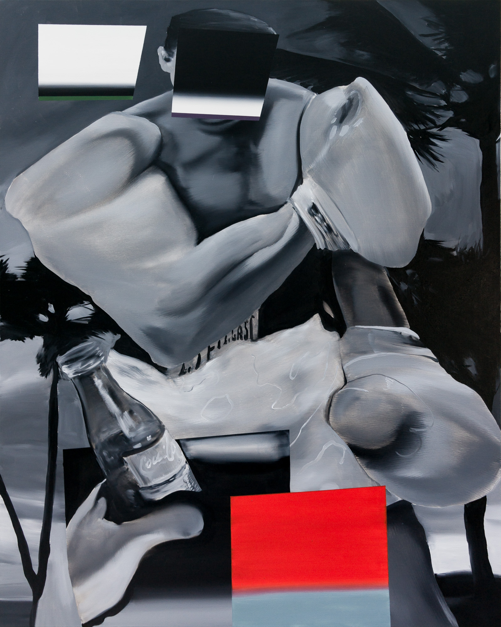 Ali 'Western' ,2019  Oil on canvas  150 x 120 cm