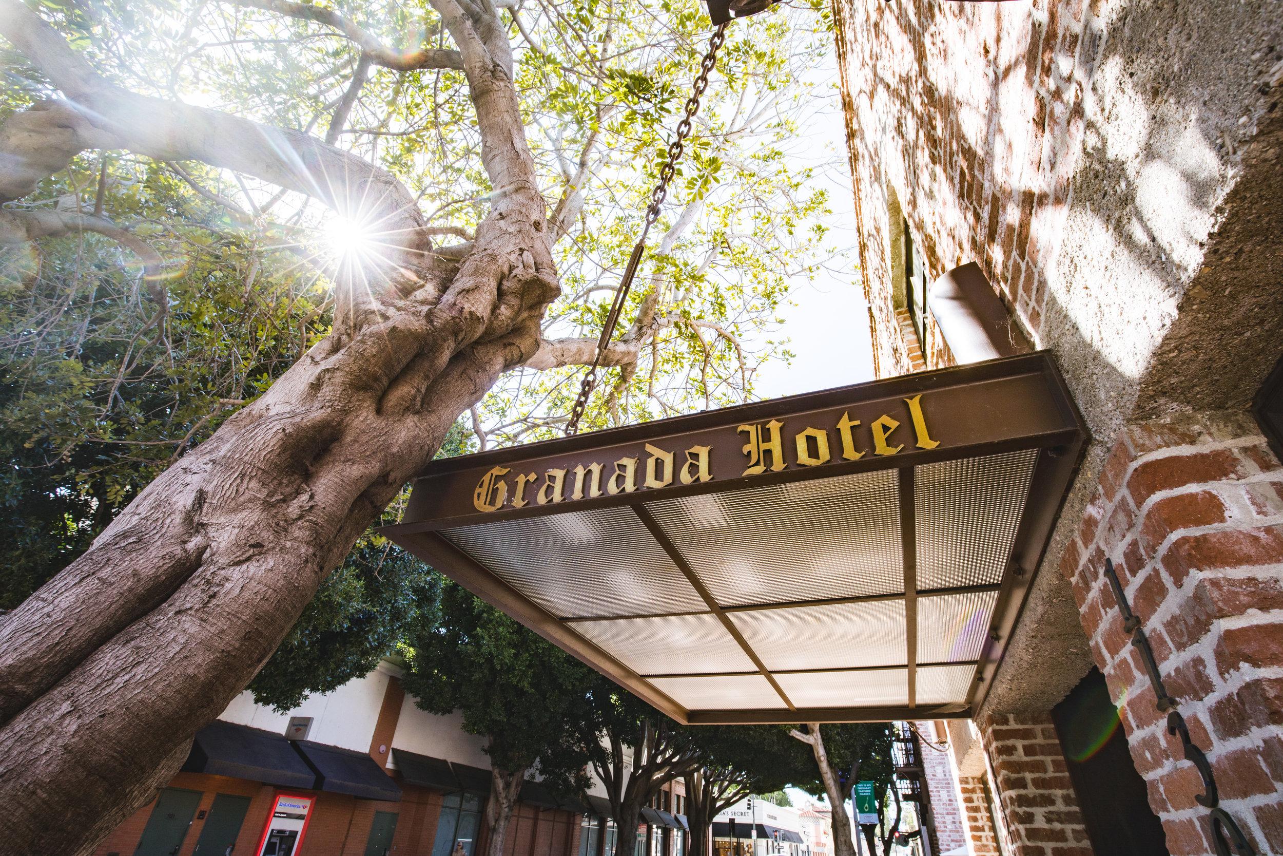 GRANADA HOTEL - SAN LUIS OBISPO, CA