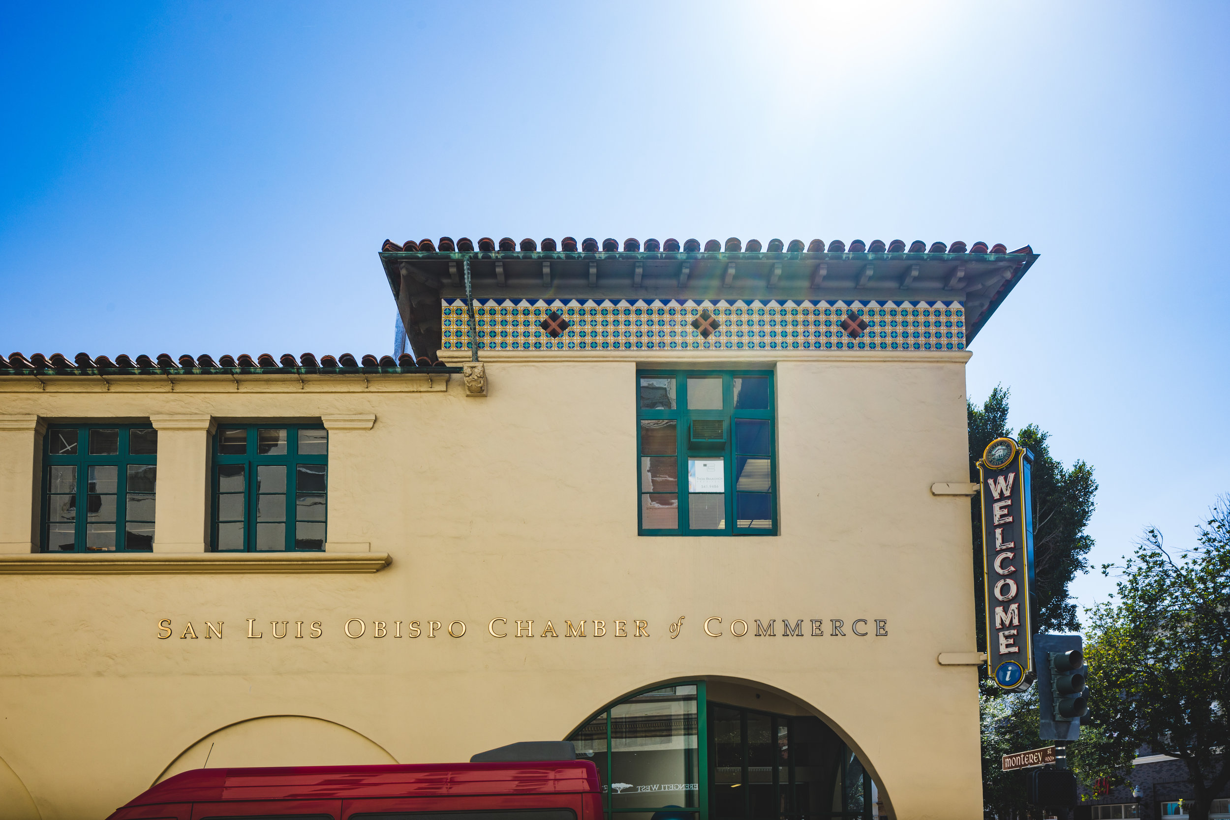 SLO CHAMBER OF COMMERCE - SAN LUIS OBISPO, CA