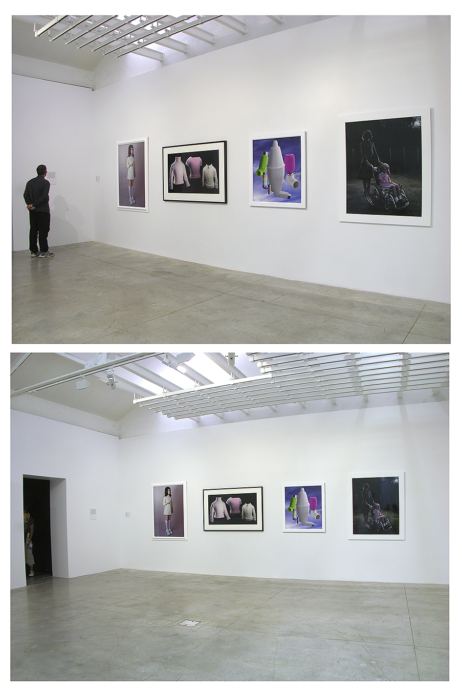 Installation view, Mixed-Up Childhood exhibition, Auckland Art Gallery, 2005