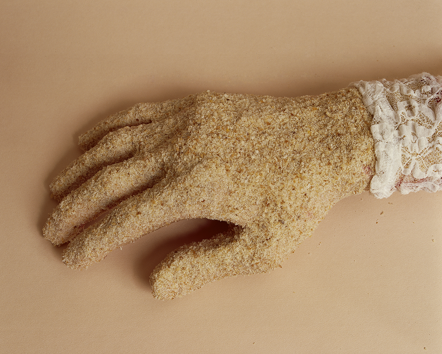 Crumbed Hand, 1998