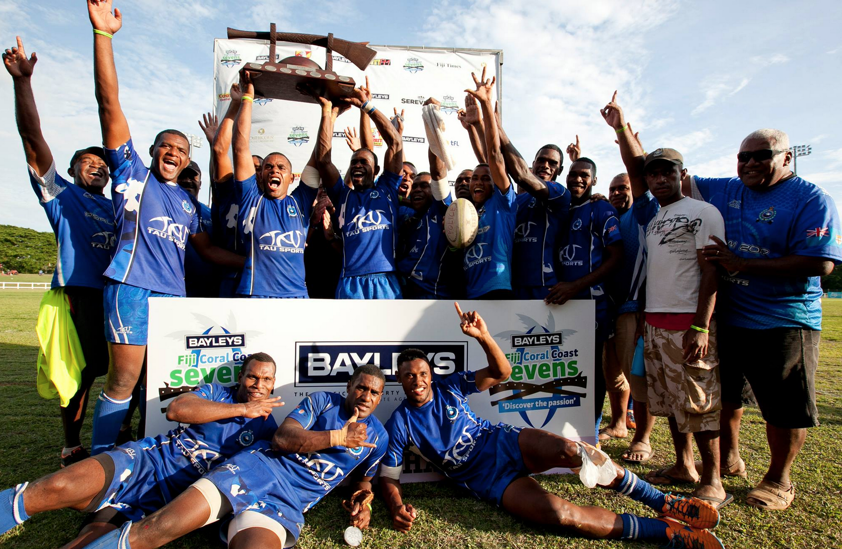 The Fiji Sevens team is one of the most successful rugby sevens teams in the world.