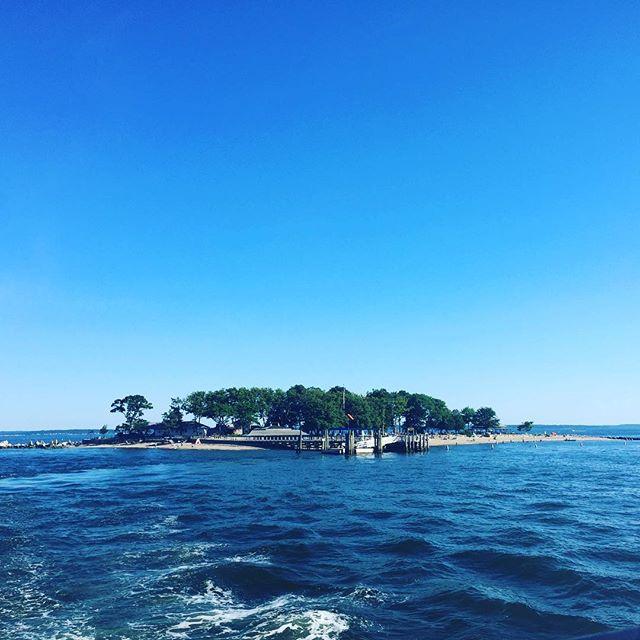 Island beach day! 15 min away from home and felt like a vacation. #greenwich #summer #islands #islandbeach