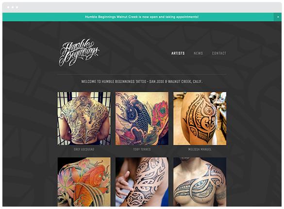 Humble Beginnings Tattoo  • San Jose