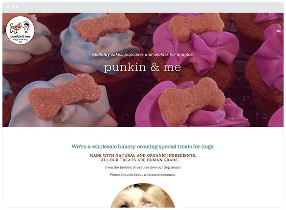 Punkin & Me Dog Bakery  • San Jose