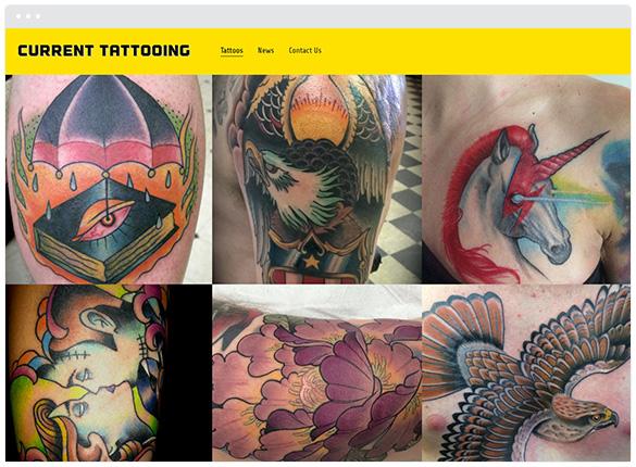 Current Tattooing  • San Jose