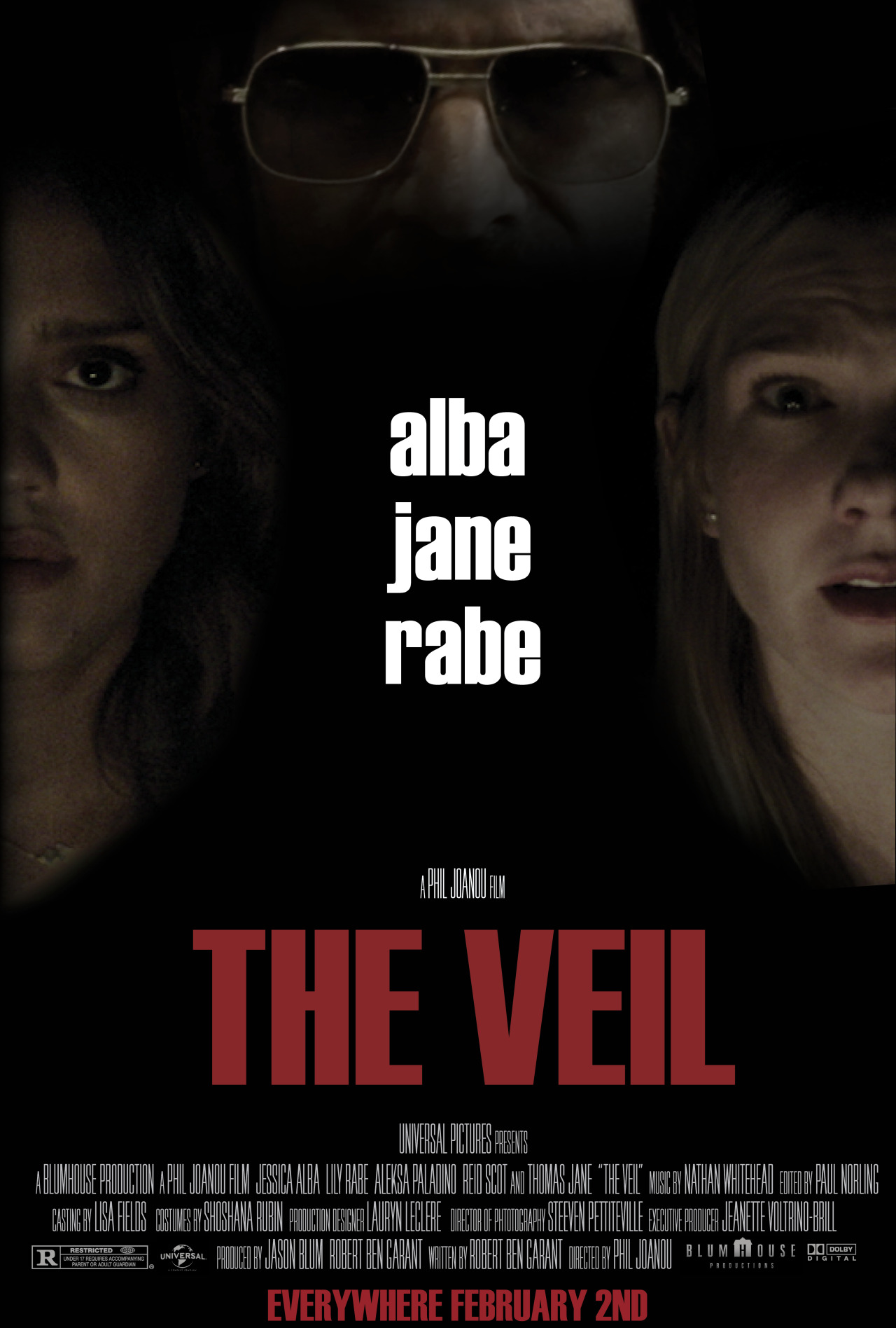 I love this design on the new The Veil poster.