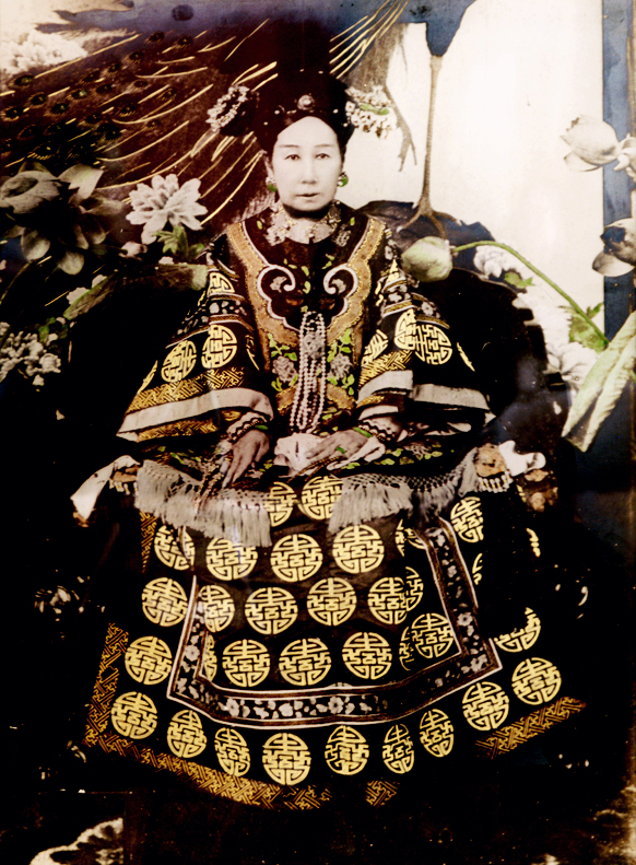 The Dowager Empress Cixi, courtesy of Wikicommons.