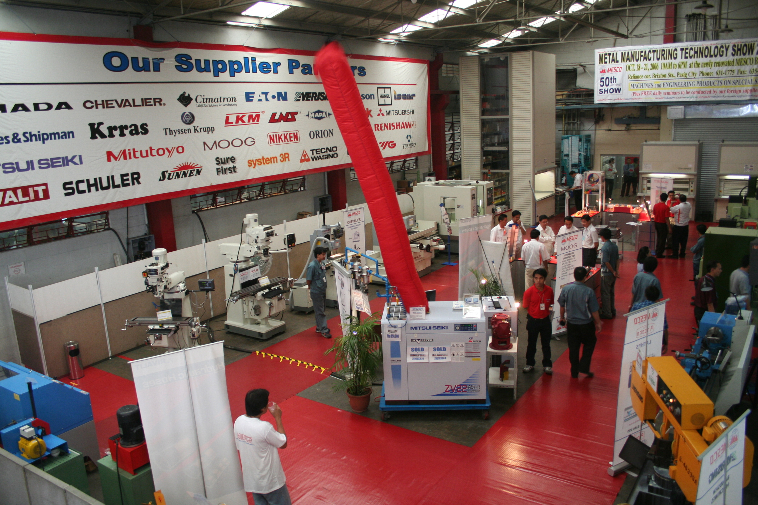 MESCO's 50th anniversary open house show at its main office in pasig, philippines