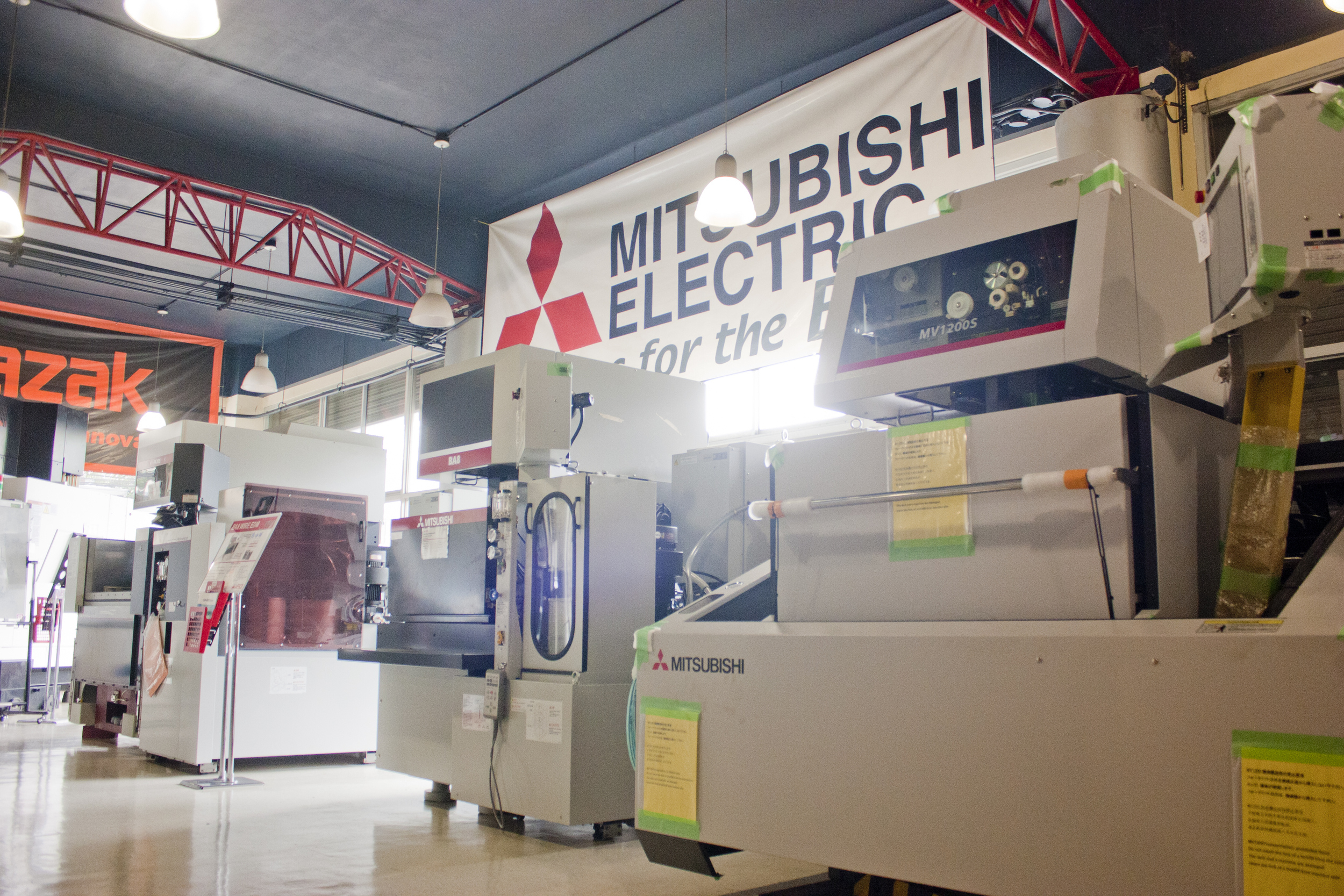 mitsubishi wirecut and edm solutions center.
