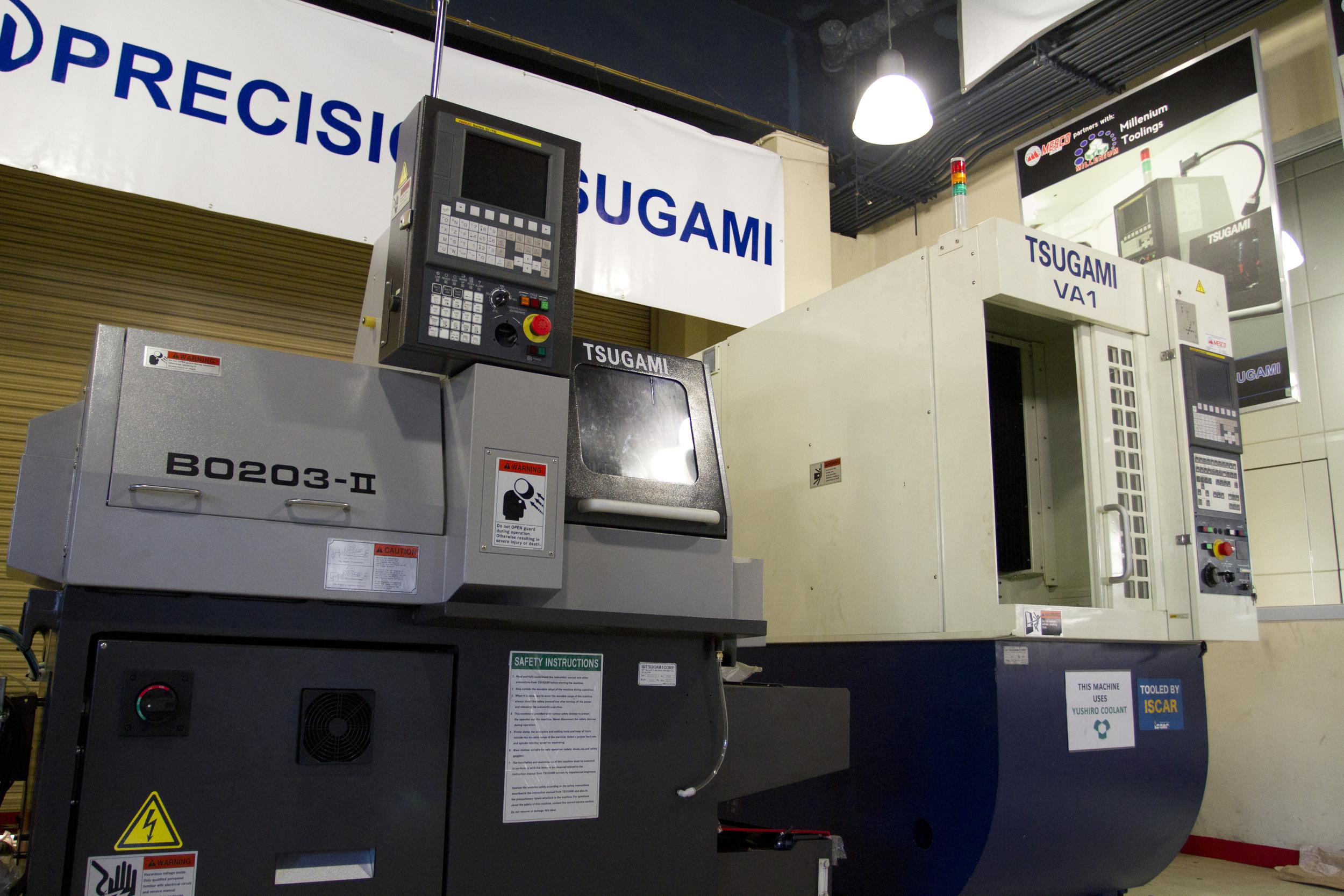 tsugami cnc solutions center