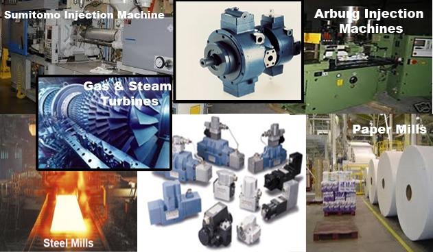 Industrial Servo Valves and Servo-Proportional Valves