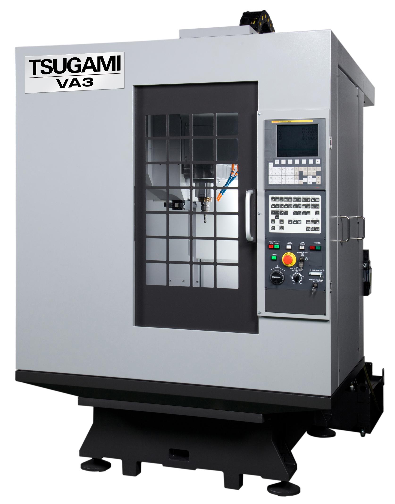 tsugami va3: cnc high speed machining center