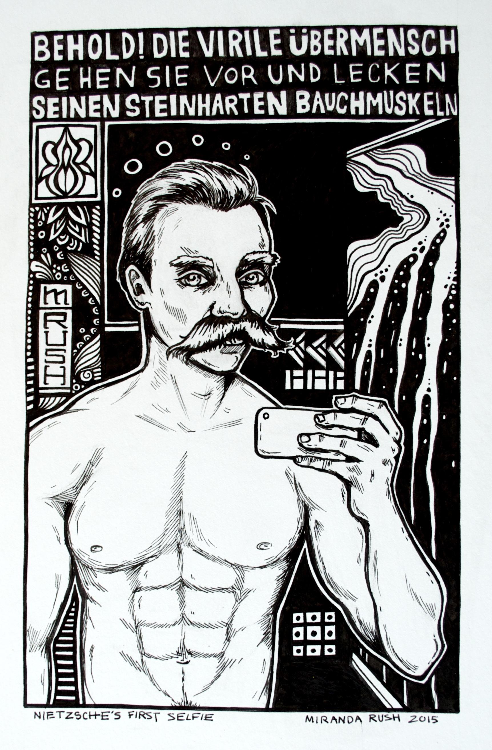 Nietzsche's First Selfie (2015)