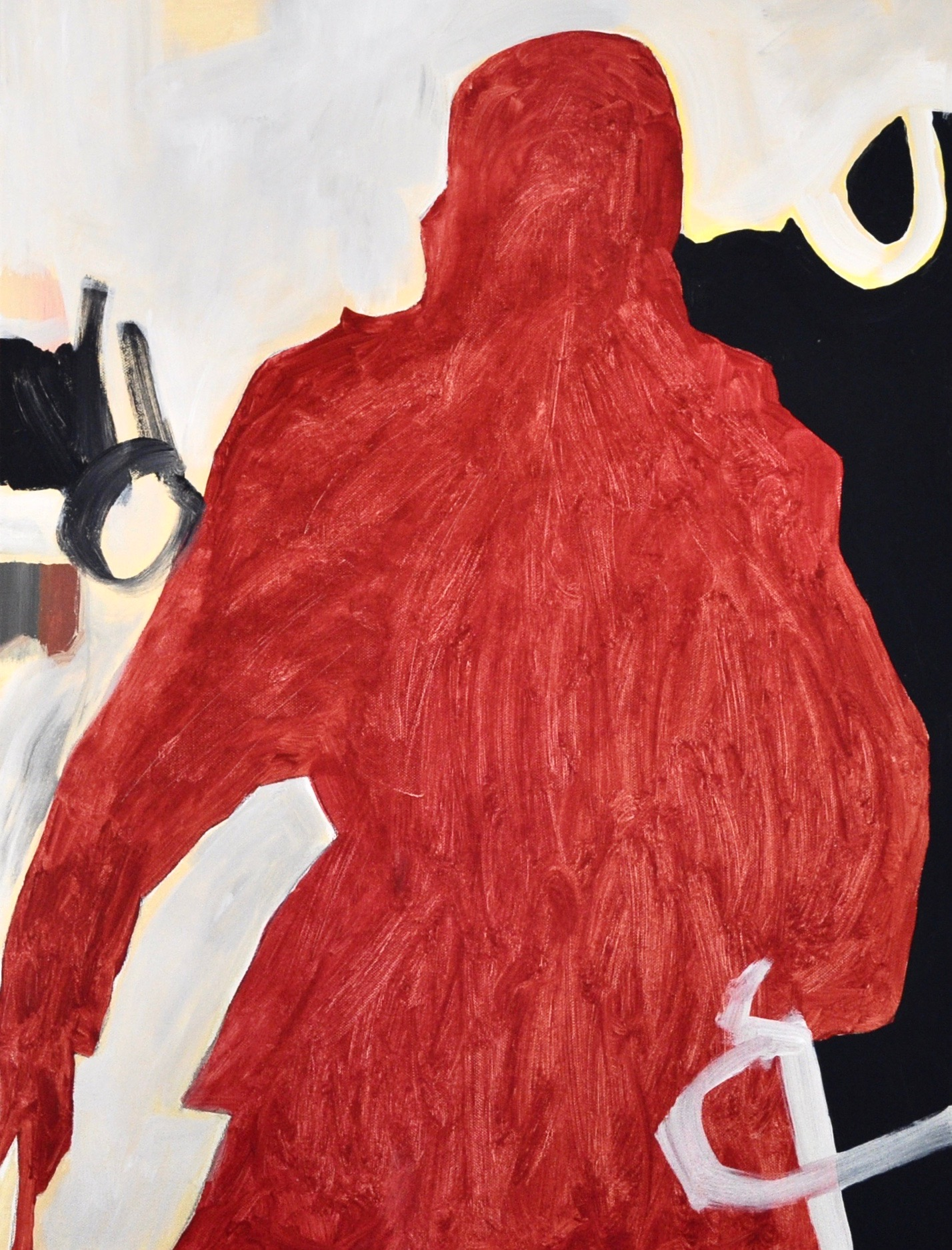 Untitled Red Figure (2017)