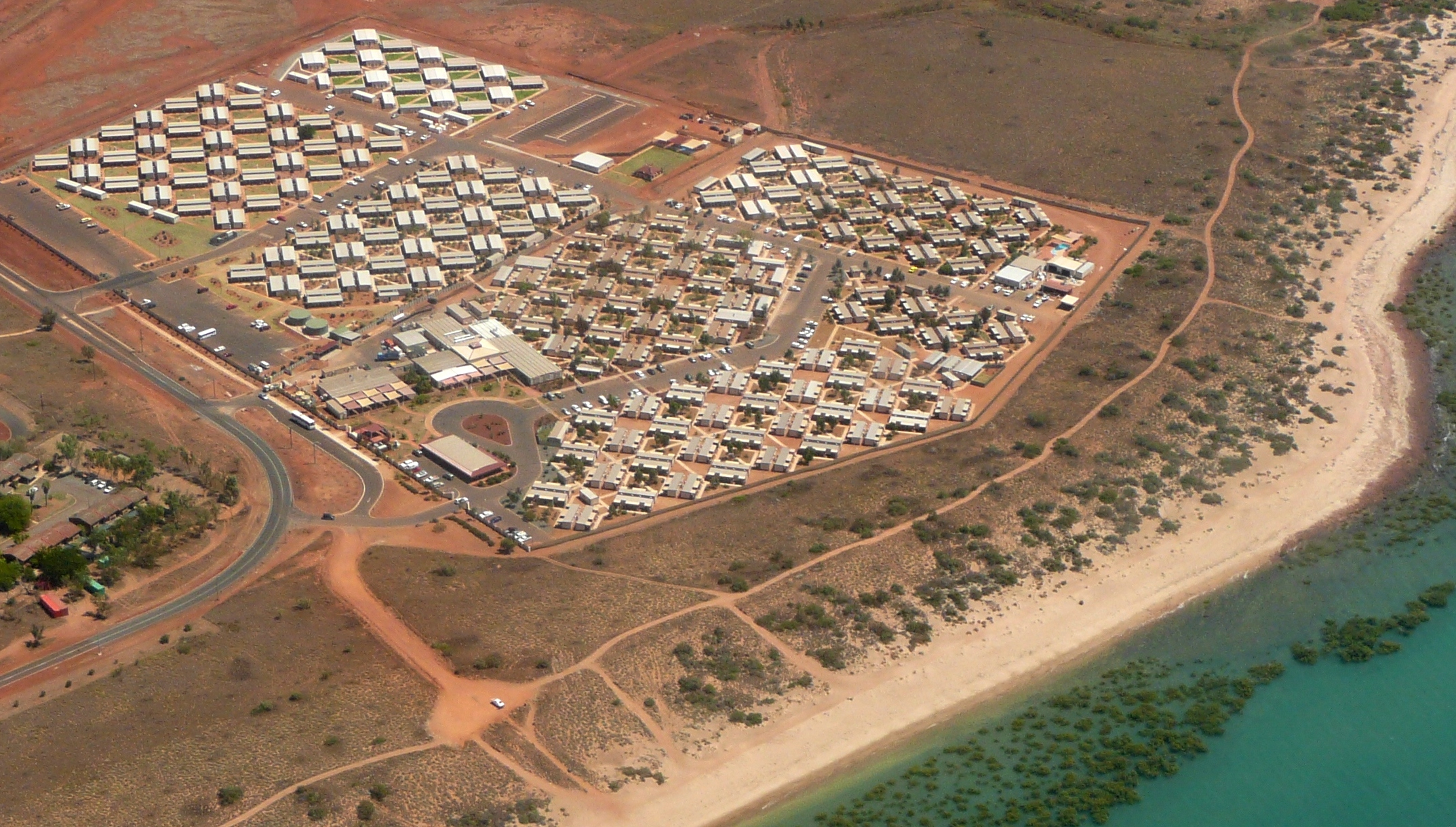 Typical Mining and Construction Worker's Camp