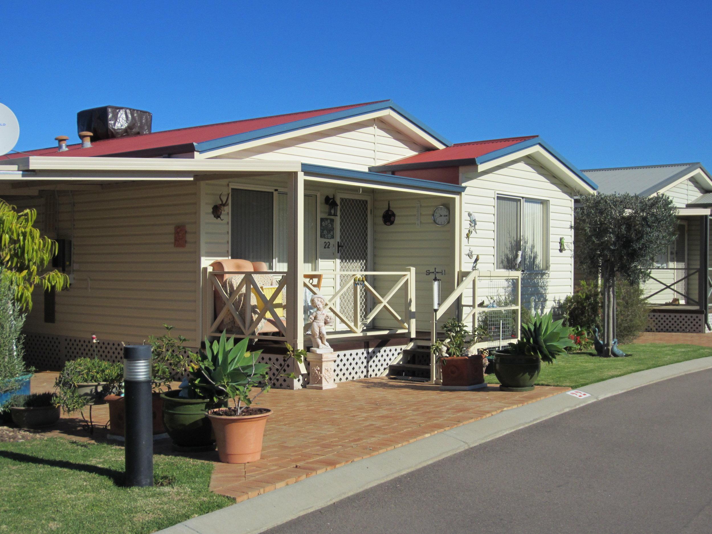 Residential and Rental Park Homes, Wavecrest Village
