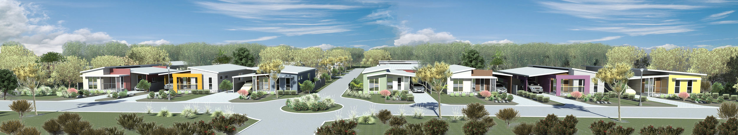 Residential Lifestyle Villages can enhance the locality and provide quality affordable housing.