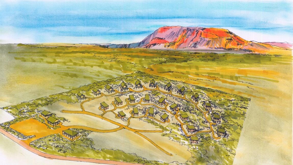 Proposed Eco Village at Mt Augustus