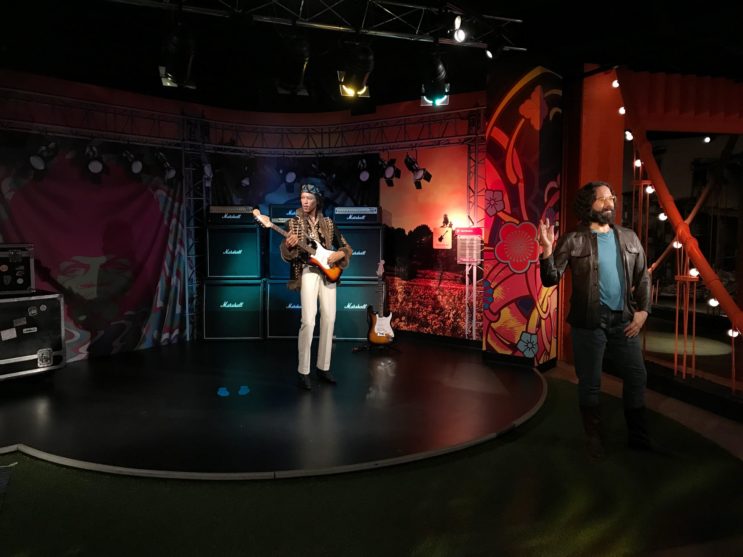 Jimi Henrix & Jerry Garcia