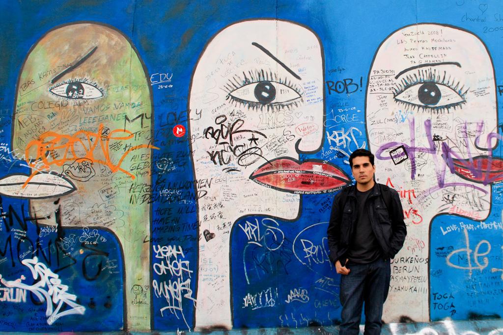 En Berlin, una de mis ciudades favoritas.