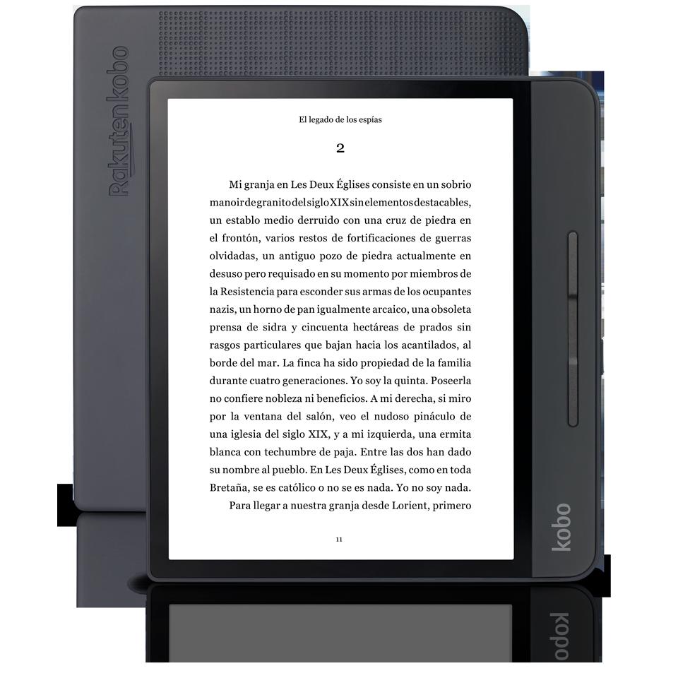 Kobo Forma (€279), el lector de ebooks más caro de Rakuten.