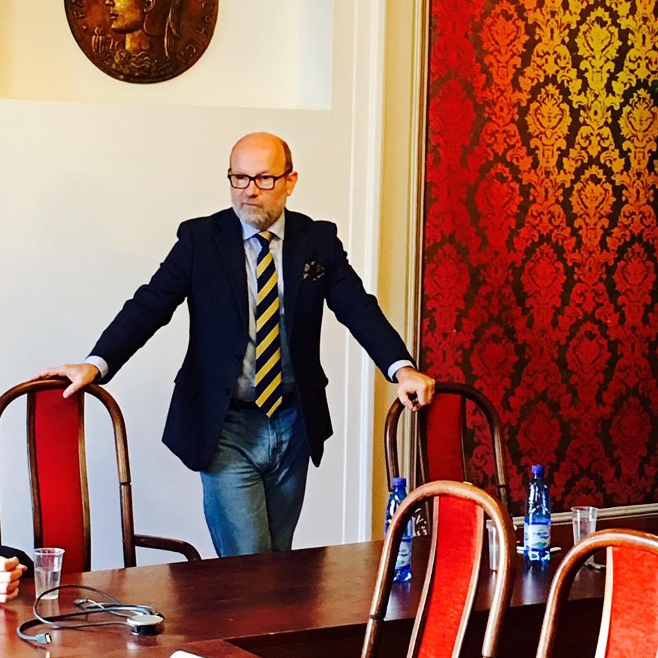 R. Káčer, veľvyslanec SR v Maďarsku, PONAD seminár, december 2016