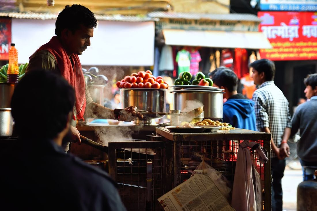 Pranzul in Haridwar