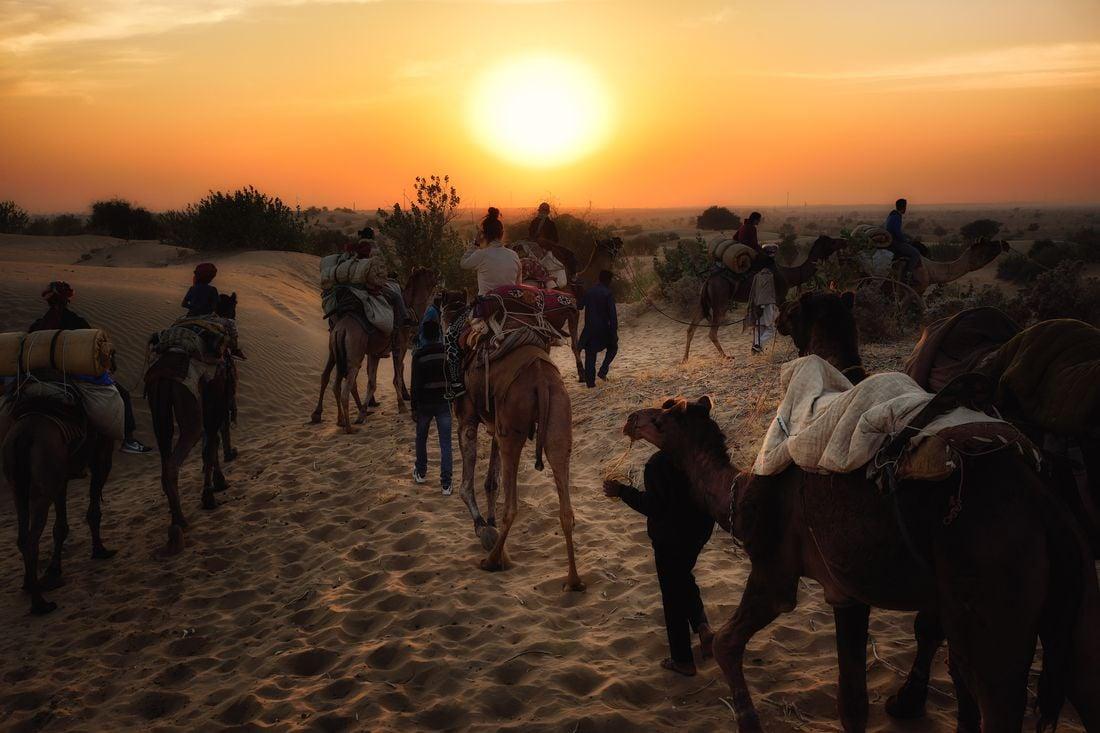 Jaisalmer de revelion