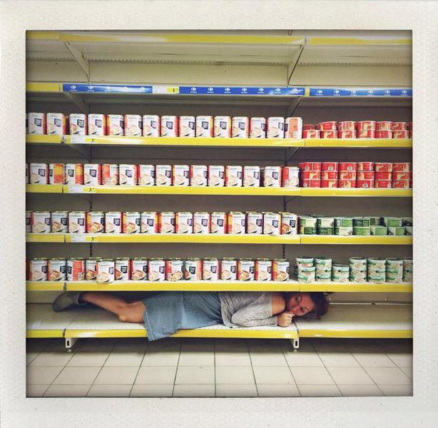 supermarket hide