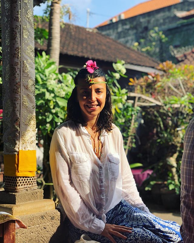 Attended my first water ceremony in Bali today! Holy soaked 💙🙏🌈 *The flow of water guides daily life in Bali. Water plays an important role and is believed by Balinese to be one of the key forces of life. Balinese Hindus participate in water blessings regularly (Melukat), a spiritual cleansing ritual aimed to achieve self-purification of both the body and soul.  #baliwaterceremony #hindurituals #purification #livetravelchannel #passionpassport #traveldeeper #beautifulmatters #travelwithfathom #citizenfemme #suitcasetravels #abmtravelbug #postcardplaces #theprettycities #TLpicks #IAmATraveler #letsgosomewhere #wanderlusting #dametraveler #culturetrip #thediscvrr #girlsborntotravel #wearetravelgirls #beautifullmatters #darlingescapes #mytinyatlas #sheisnotlost #worldnomads #makemoments
