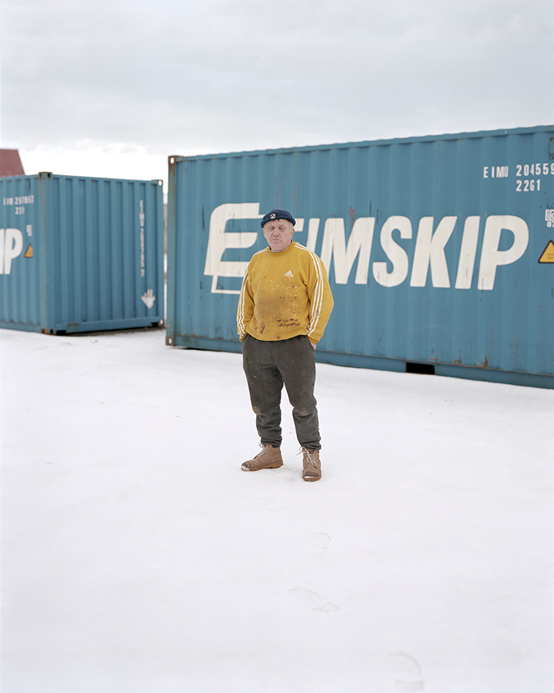 Polish Docker, Keflavik Harbour, Iceland, 2014