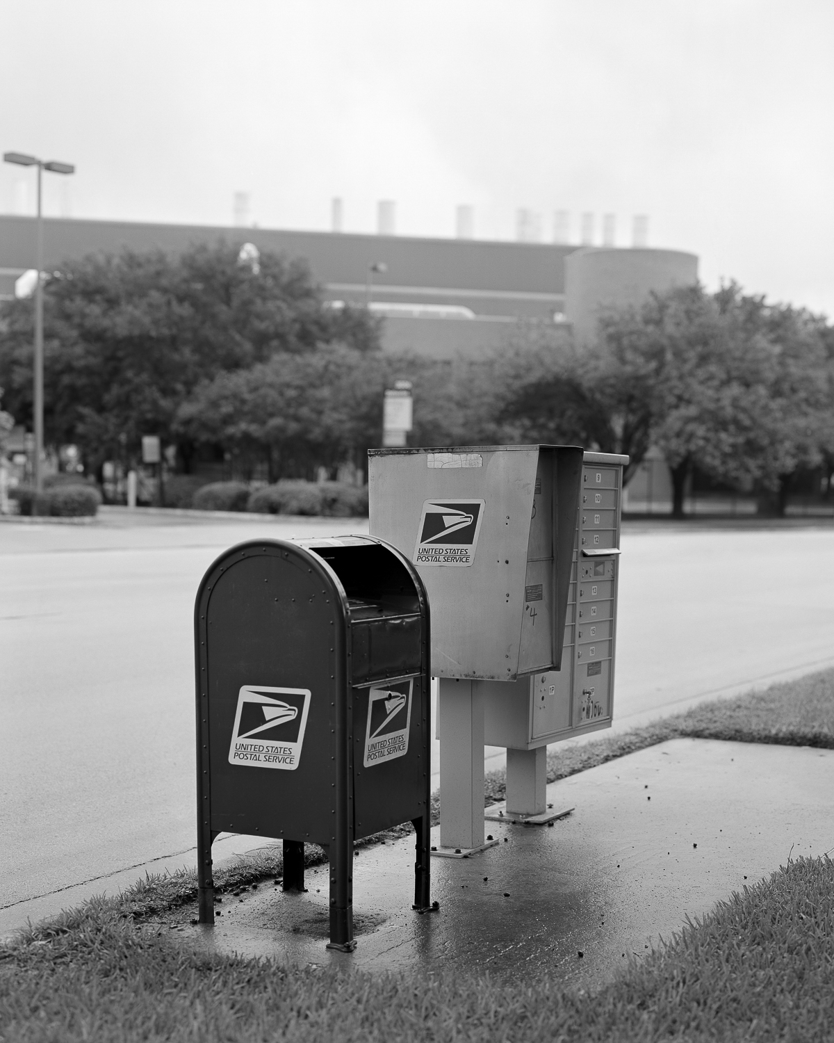 Federal Mailbox, Undisclosed Location, Austin, 2018
