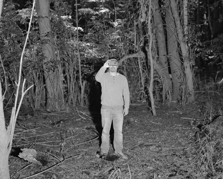 Greg, outside the Grove