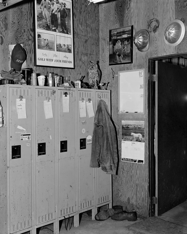 Workmen's  Locker, Northwood Golf Club