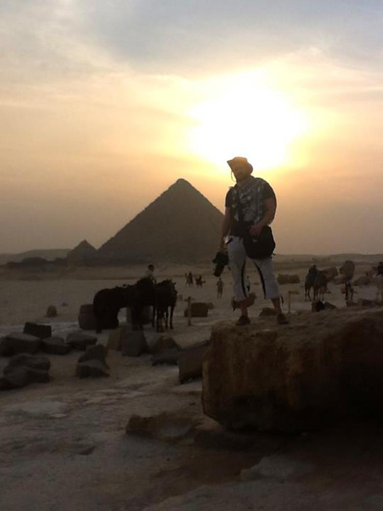 Vesa in Giza 3.12.2012