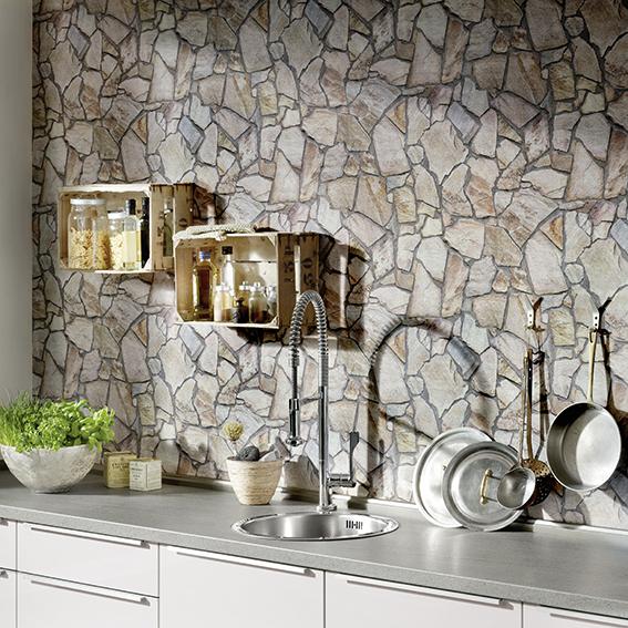 Cracked Slate Wallpaper