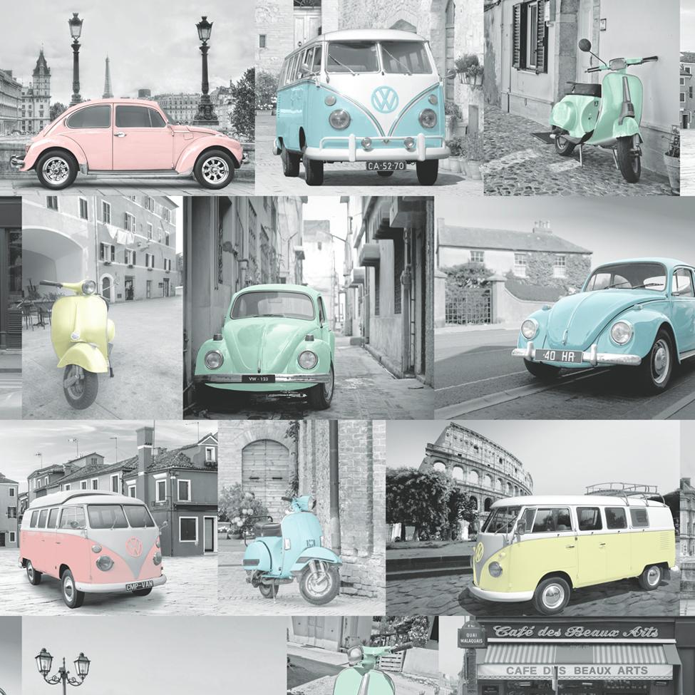 Volkswagen campervan wallpaper