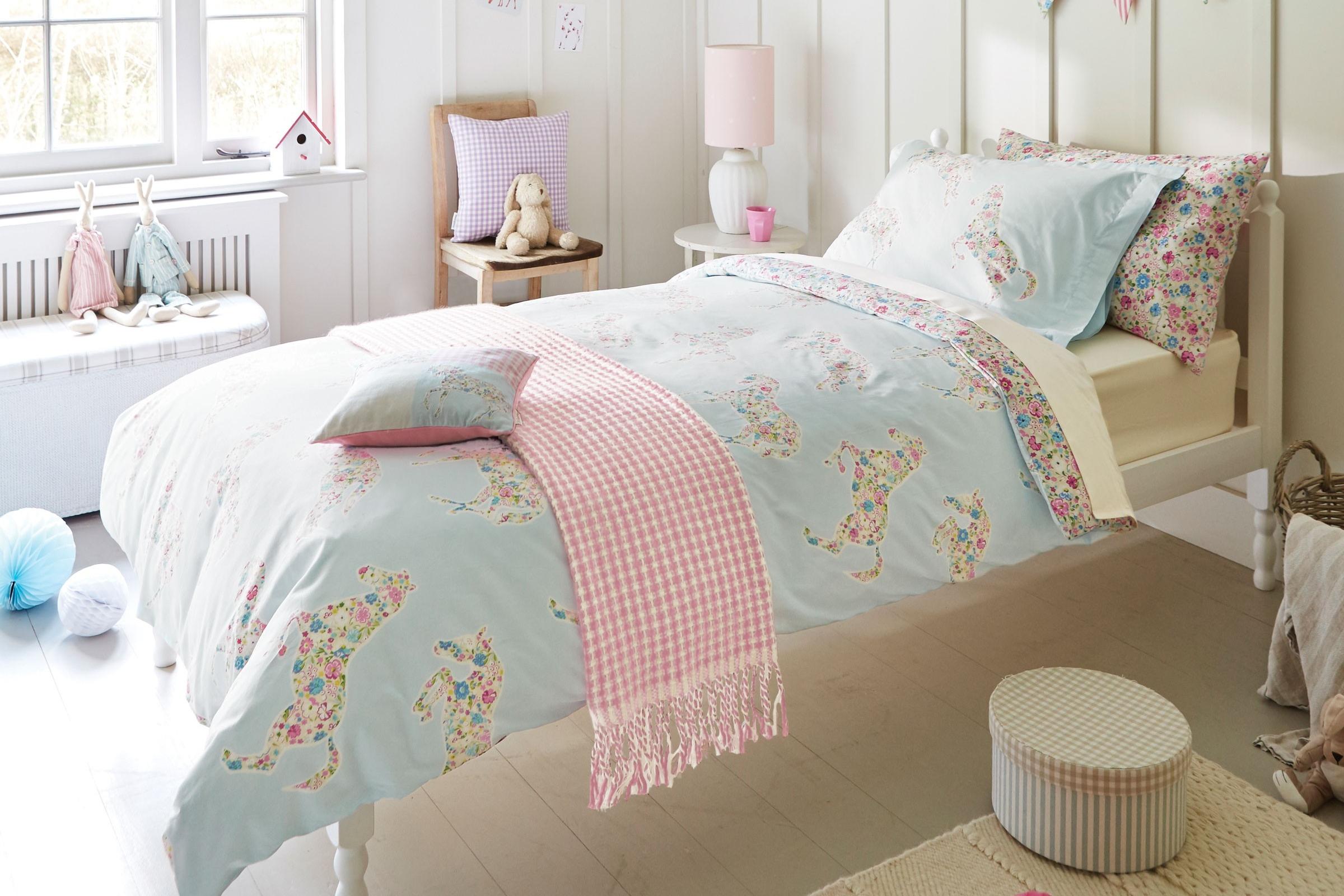 Bedding - Little Sanderson Pretty Ponies Duvet Cover Set