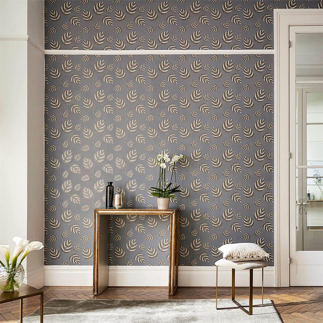 1-wallpaper-dark-grey-golden-botanical-hallway-marbelle-paloma-harlequin-style-library.jpg