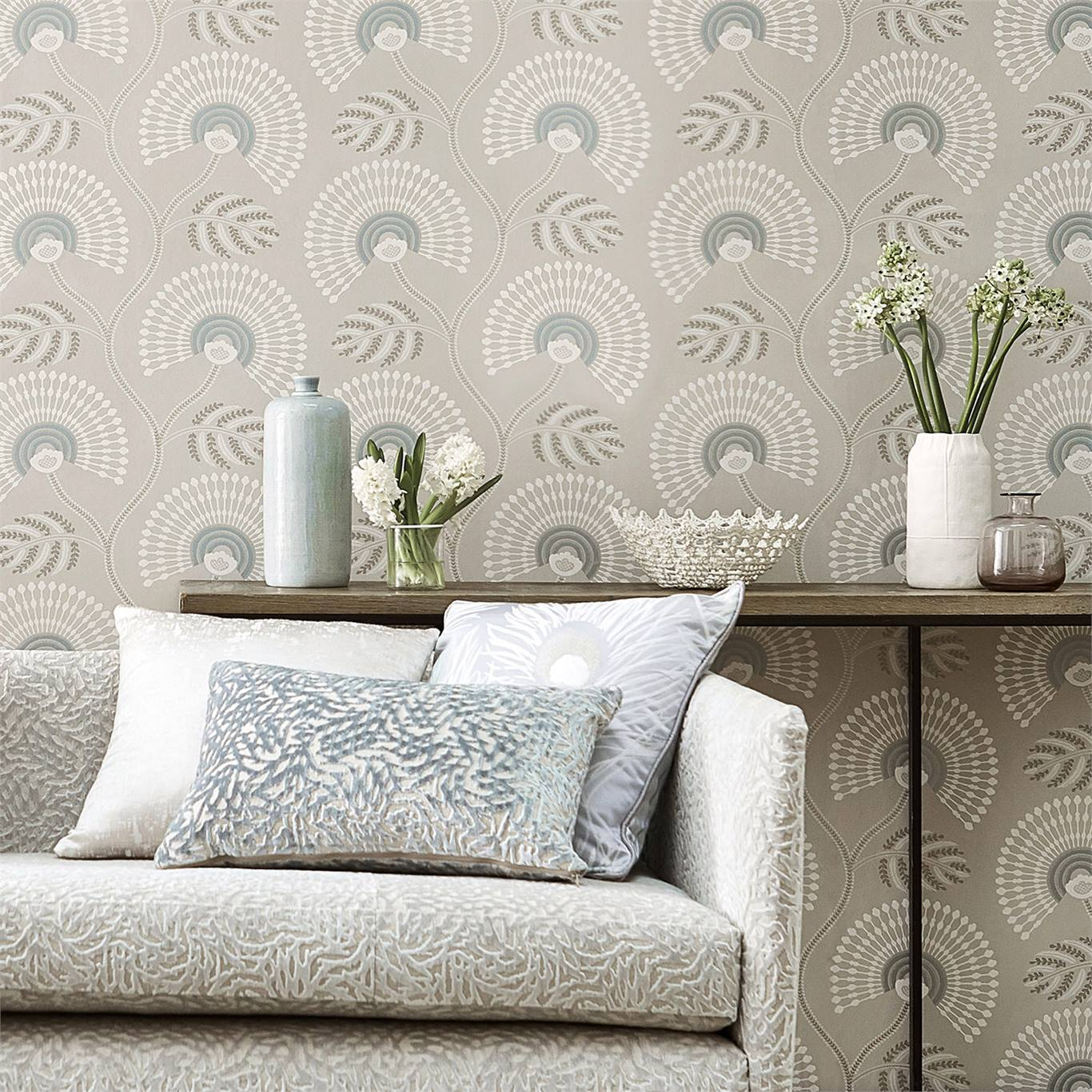 2-wallpaper-neutral-white-floral-botanical-modern-couch-living-room-detail-louella-paloma-harlequin-style-library.jpg