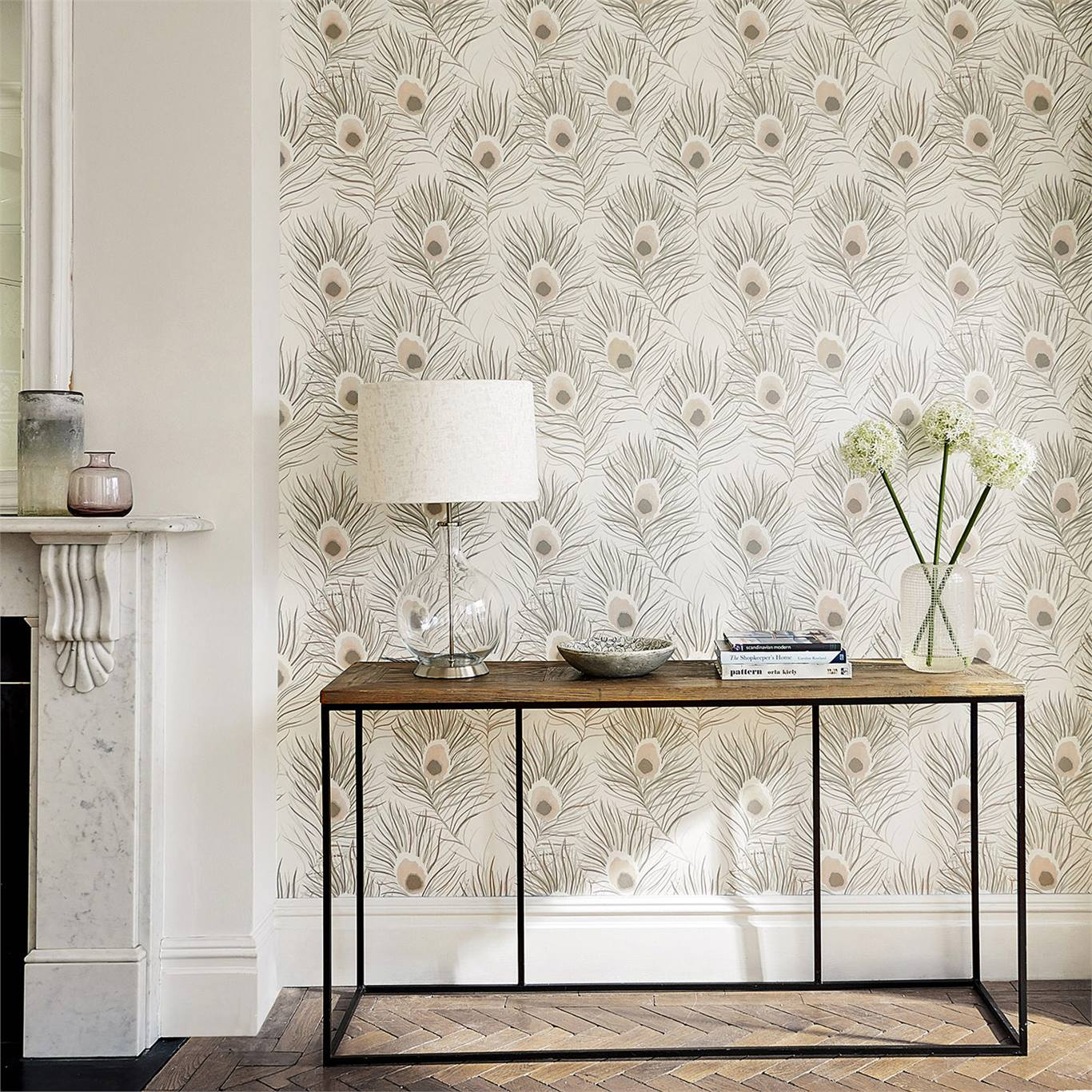 2-wallpaper-white-neutral-floral-botanical-hallway-orlena-paloma-harlequin-style-library.jpg