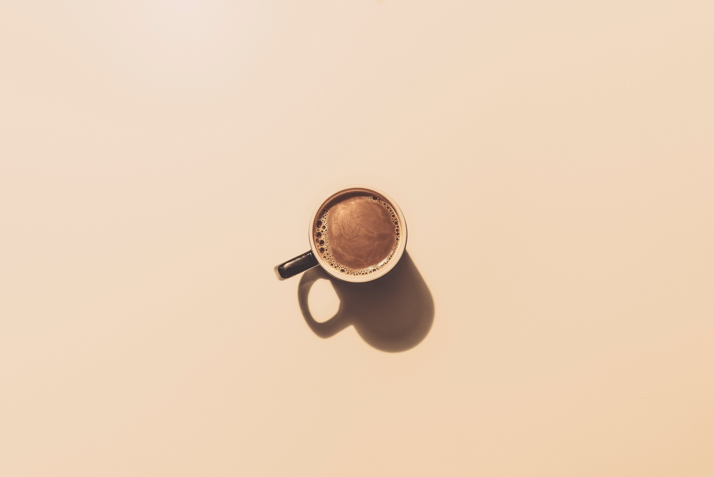 """""""Coffee is a cup of hope in a world full of chaos and Mondays."""" -"""