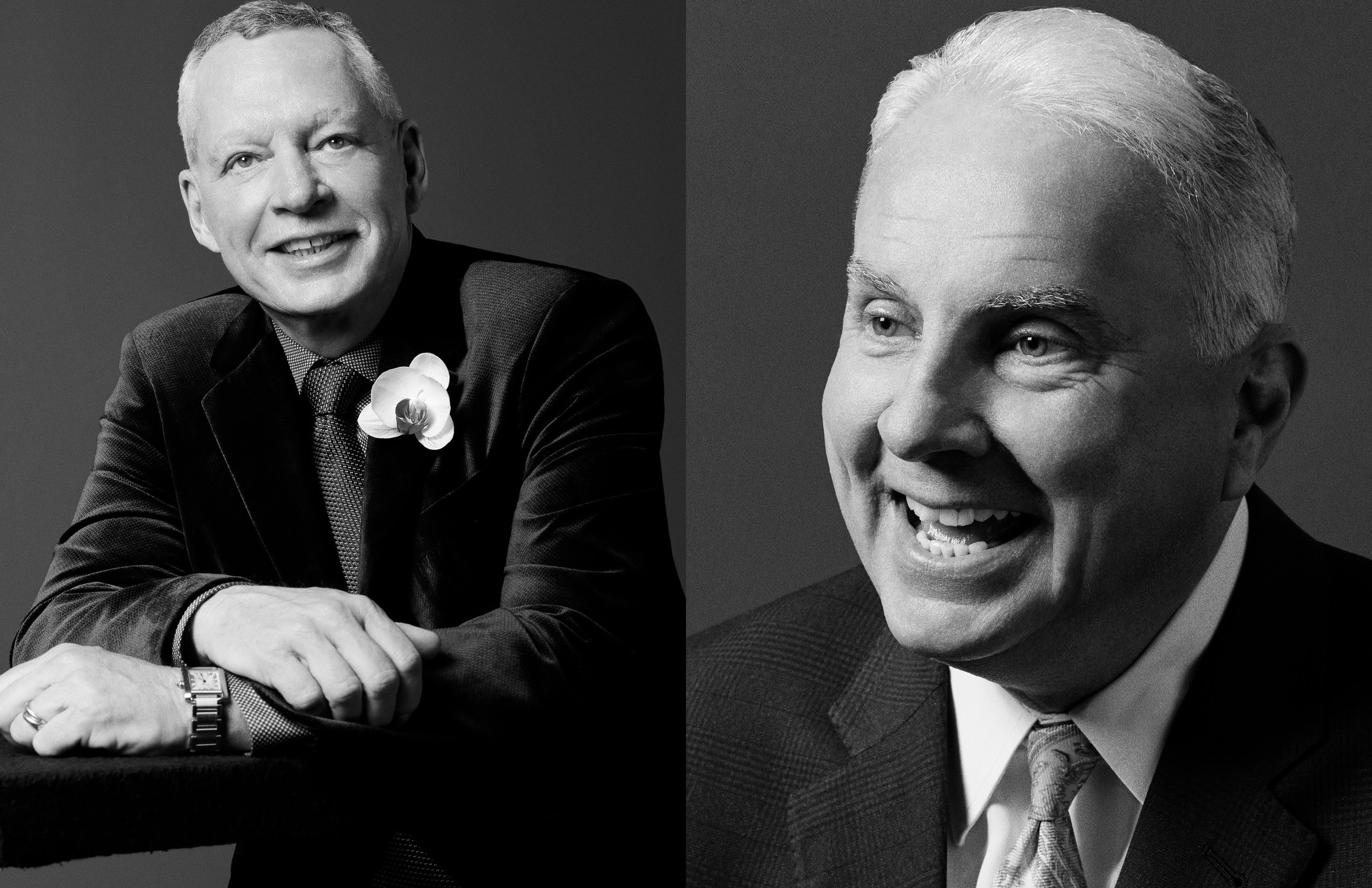 RICHARD FLOWERS, CEO OF THE EVENTS COMPANY & MARK A. WALLACE, CEO OF TEXAS CHILDREN'S HOSPITAL